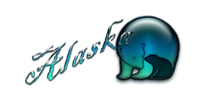 Alaska Bear Logo TravelWITWIT