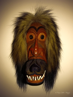 Alaska Native Wolf Mask