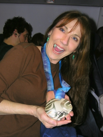 Tanya With Silver Medal 2010