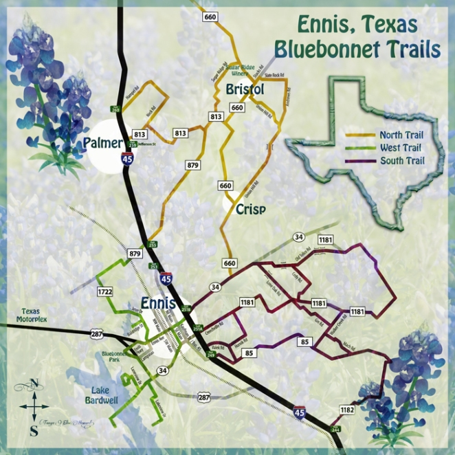 4278-THM Bluebonnet Trails Map