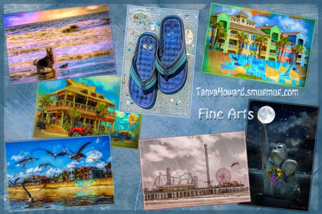 Galveston Fine Arts Collage