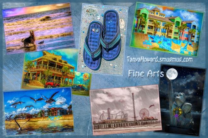 Galveston Fine Arts Collage